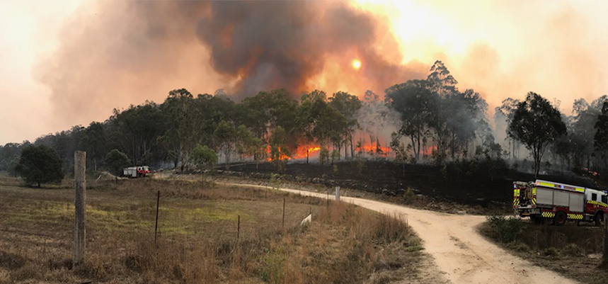 The Salvation Army is responding to Australia's bushfires