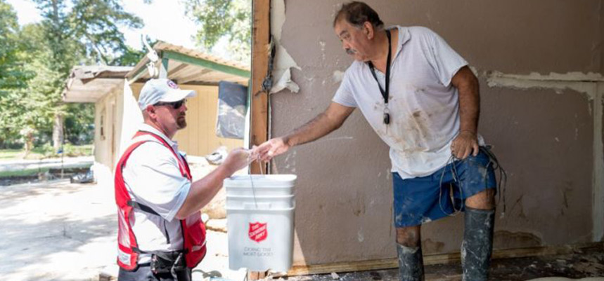 The Salvation Army - Delivering Hope to Those in Crisis a Year After Hurricane Harvey