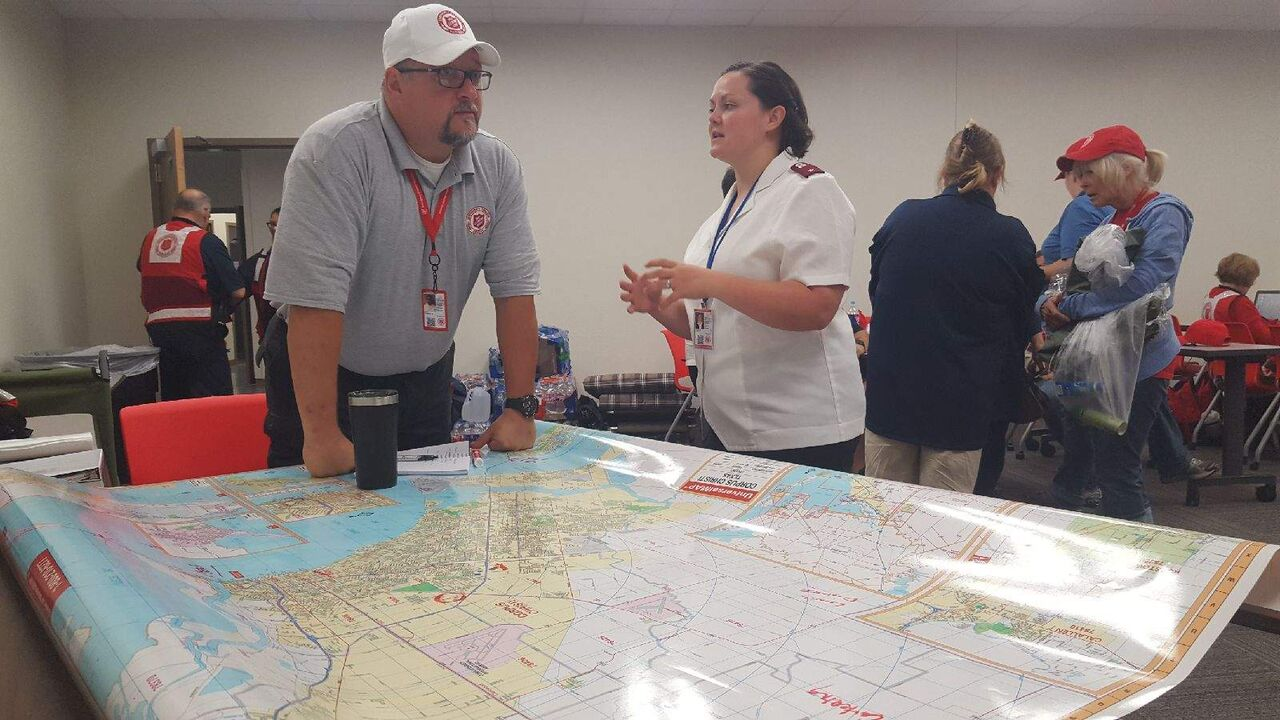 Harvey Relief Efforts by The Salvation Army