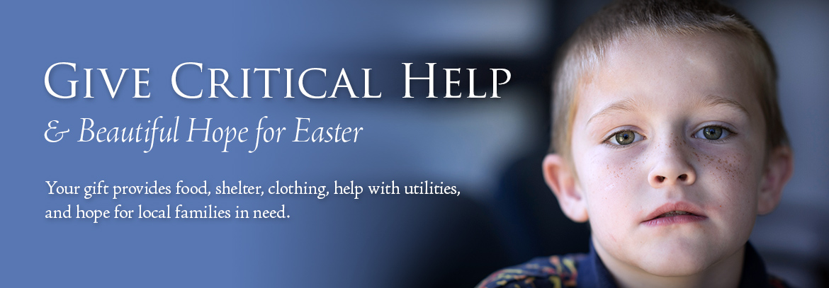 You Gift provides food, shelter, clothing, help with utilities, and hope for local families in need.