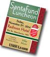 Santa Fund luncheon program