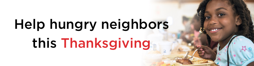 Help hungry neighbors this Thanksgiving