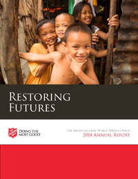 Salvation Army World Services - Annual Report 2016