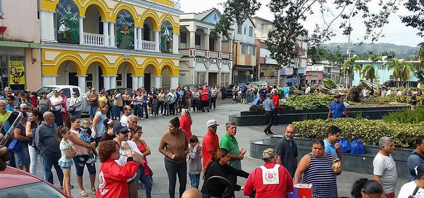 Salvation Army Hurricane Irma and Hurricane Maria update