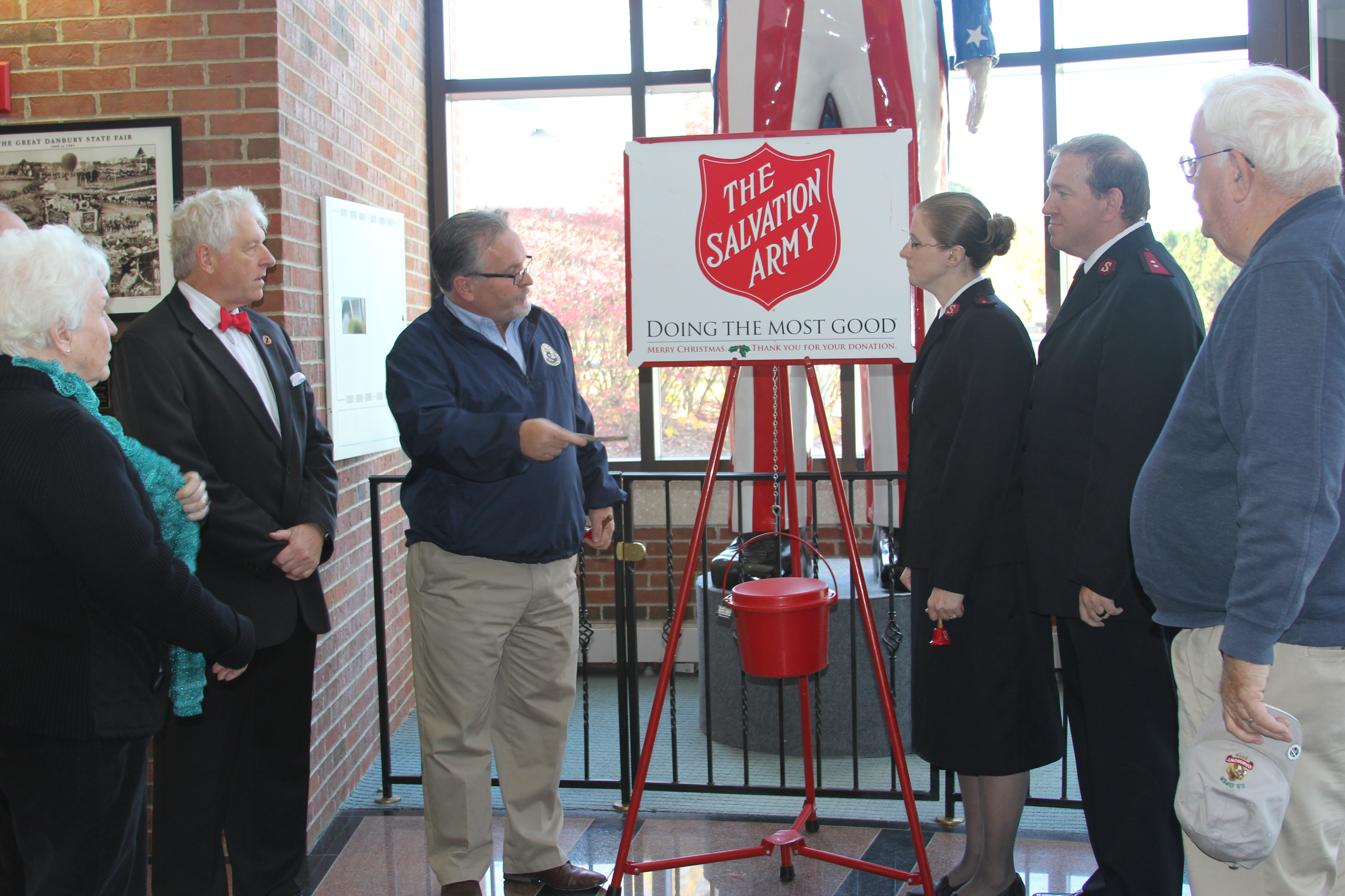 The Salvation Army Helps in Connecticut and Rhode Island - Danbury