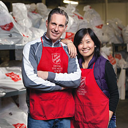Become a Salvation Army volunteer TODAY!