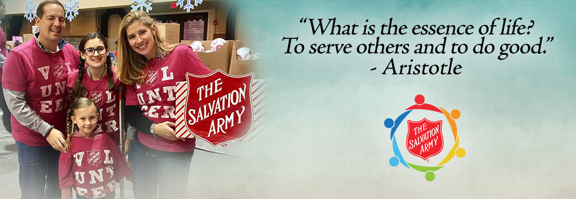 Learn about Volunteering for The Salvation Army in Connecticut and Rhode Island