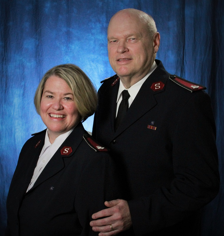 Lt. Colonels Ward and Michele Matthews to serve as National Community Relations and Development Secretary and National Director for White House Relations