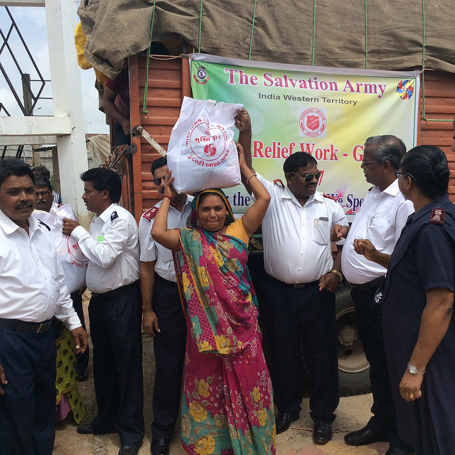 Salvation Army responds as worst flooding in South Asia for 30 years leaves millions homeless