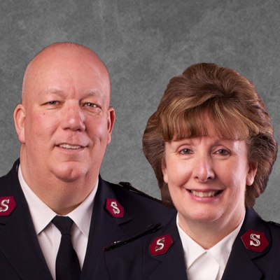 Majors Roger & Carol Duperree