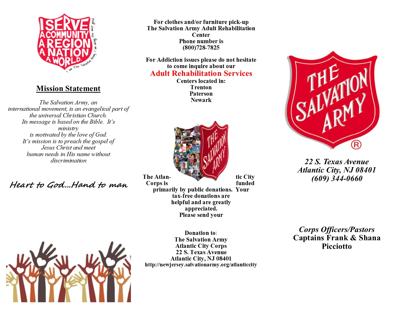 The Salvation Army New Jersey Division - Atlantic City