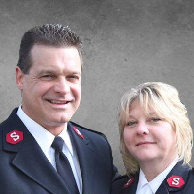 Captains Laurence and Wendy Goodman