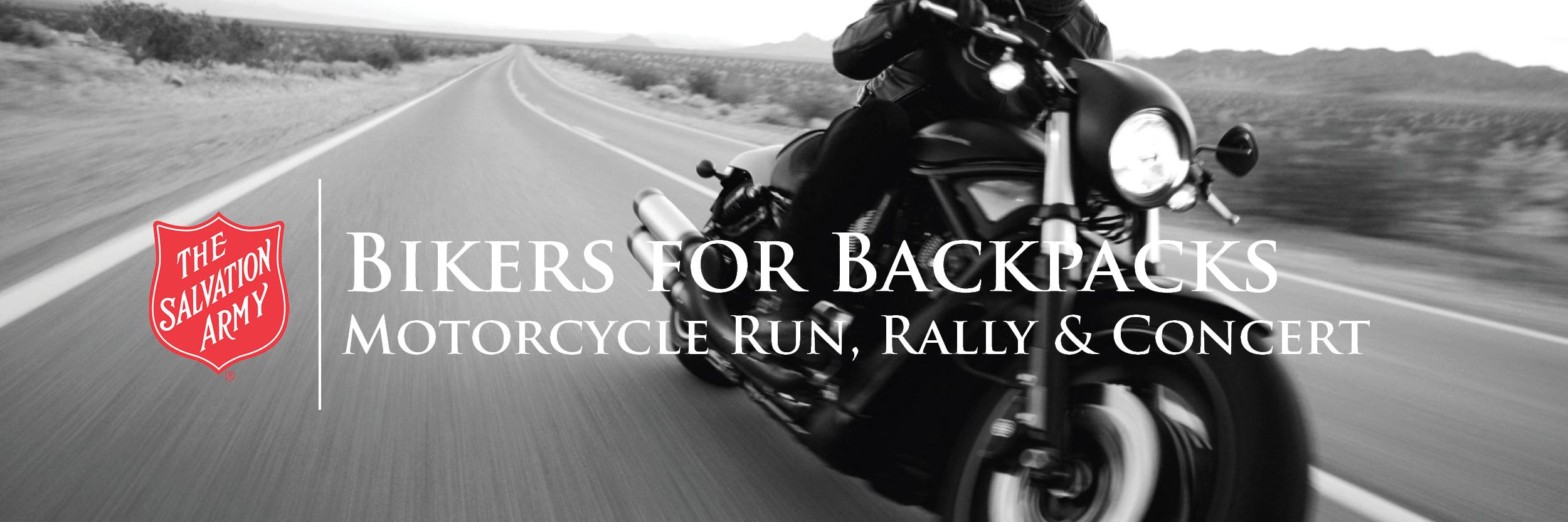 Bikers for Backpacks