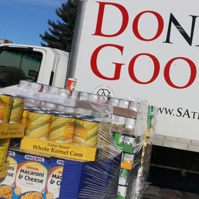 Consulting Engineering Services collects 13,000 cans for Salvation Army