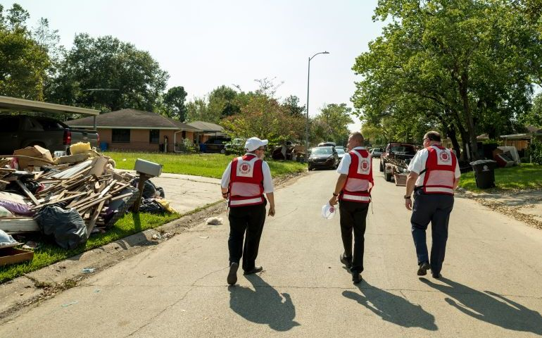 Response to Harvey Relief Work