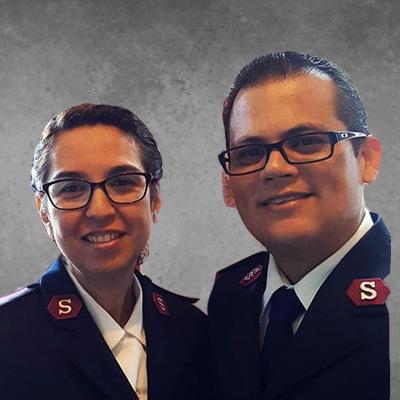 Captains Jose and Melissa Borrero