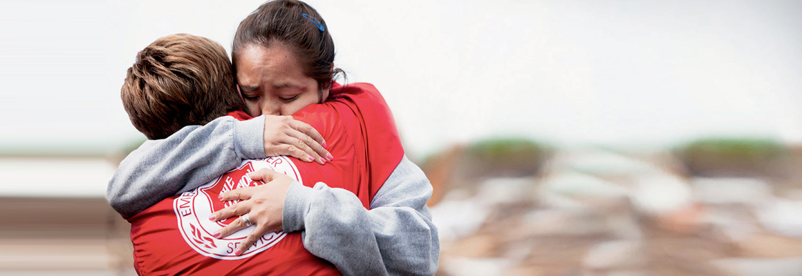 Disasters call for people of incredible generosity
