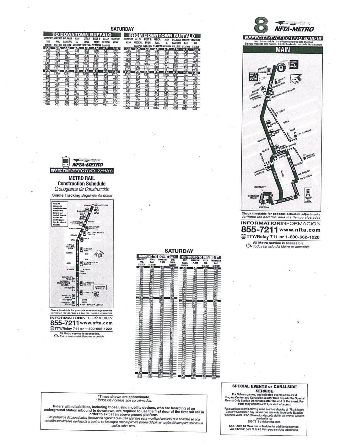 Buffalo New York Buffalo S Most Amazing Race Nfta Maps