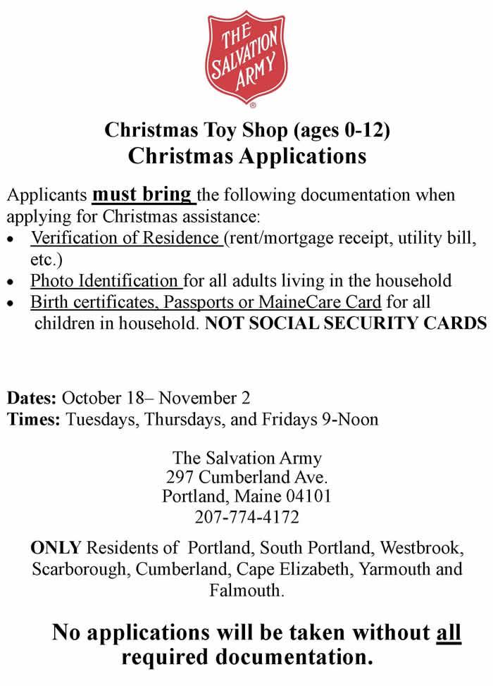 Christmas Applications