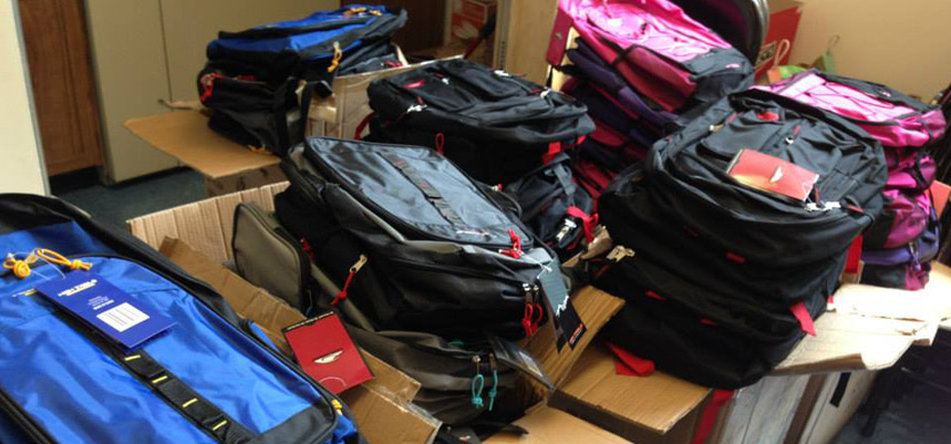 New London Backpack Giveaway