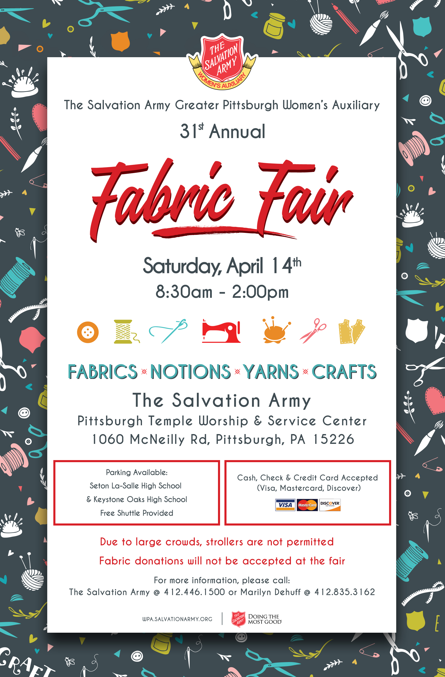 Western Pennsylvania Division - The Fabric Fair