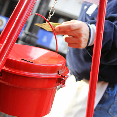 Salvation Army Begins Red Kettle Campaign New Haven