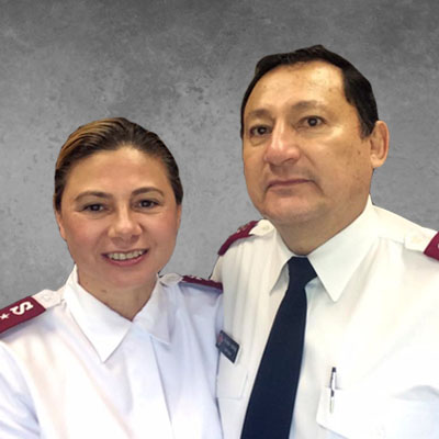 Captains Patricia and Ricardo F. Portal