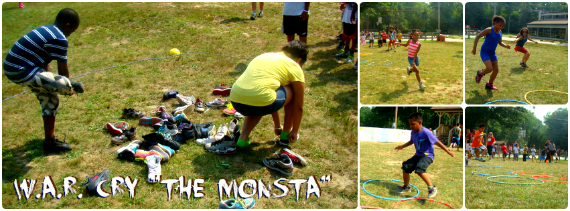 The Monsta Relay Race