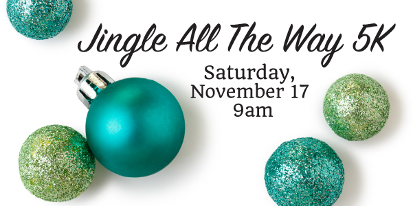 Jingle All the Way 5K, Ashland Salvation Army Kroc Center 5K, Ashland, Ohio