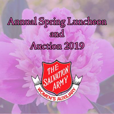 Salvation Army Spring Flin Women's Aux
