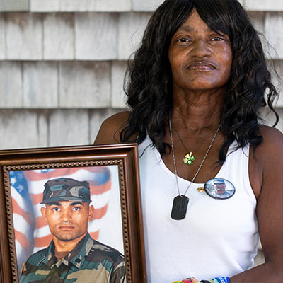 Mother of war vet finds solace in God and The Salvation Army