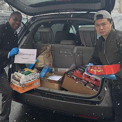 Chinese-American community donates carloads of food to Salvation Army