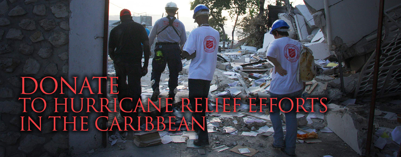 Support the Caribbean Hurricane Relief