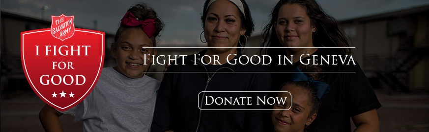 Donate Today to Fight For Good in Geneva, NY