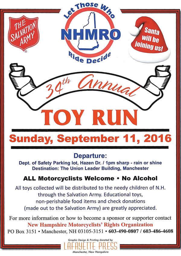 34th Annual Toy Run
