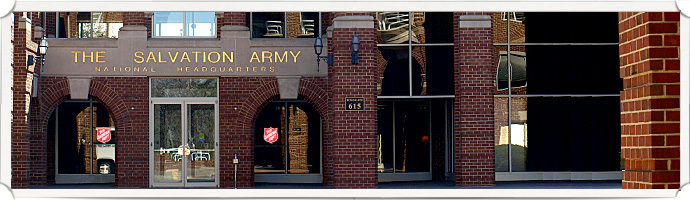 Locate The Salvation Army