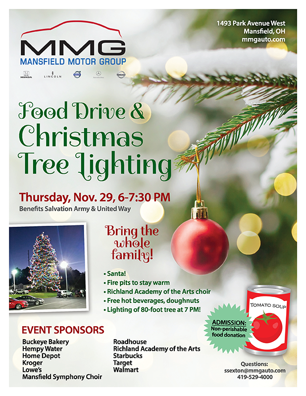 Food Drive & Christmas Tree Lighting