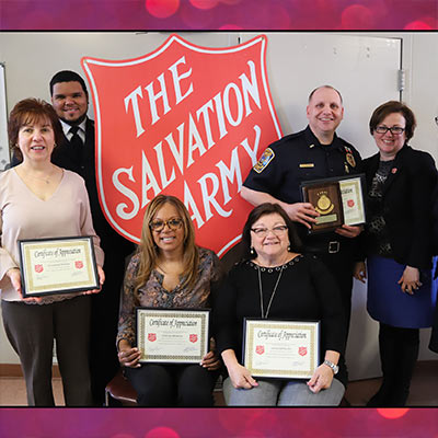 Bristol Salvation Army Honors Volunteers and Donors