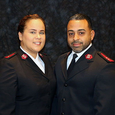 Captain Anthony & Valerie Rivera