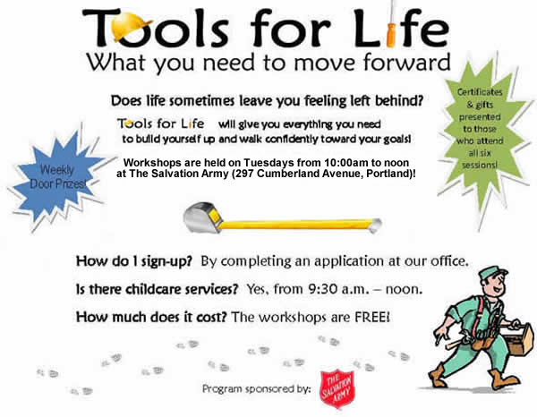 Tools For Life: What you need to move forward