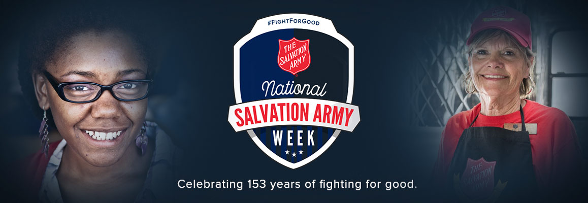 National Salvation Army Week 2018