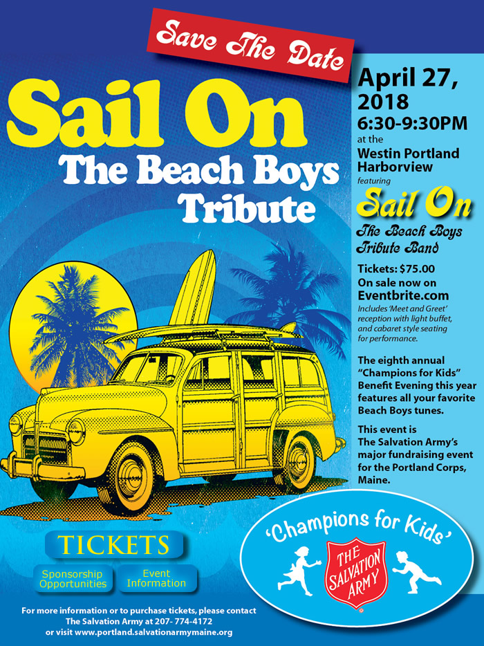 The Eighth Annual 'Champions For Kids' Benefit Evening | Featuring all your favorite Beach Boys Tunes