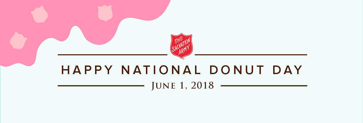The Salvation Army in Connecticut and Rhode Island celebrates Donut Day 2018