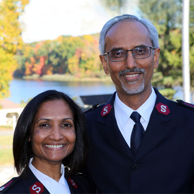 Majors Asit S. & Sunetra A. George