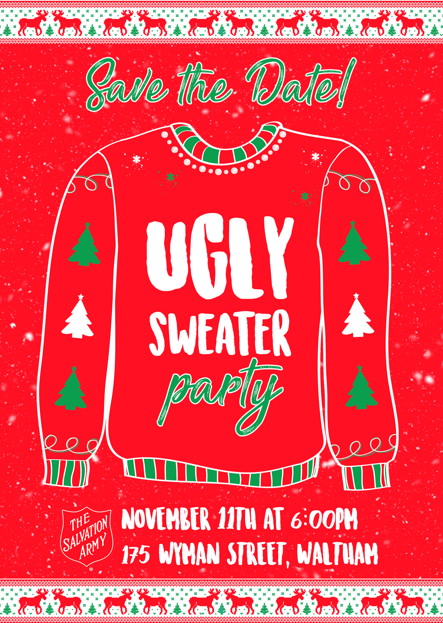 Massachusetts Division Ugly Sweater Party