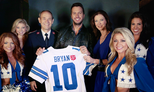 Luke Bryan Will Kick Off 125th Red Kettle Campaign