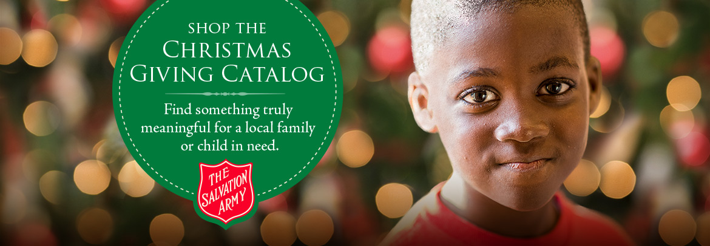 Shop the Christmas Giving Catalog