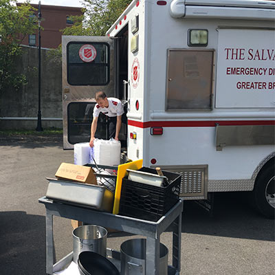 The Salvation Army in Connecticut responds to Hurricanes