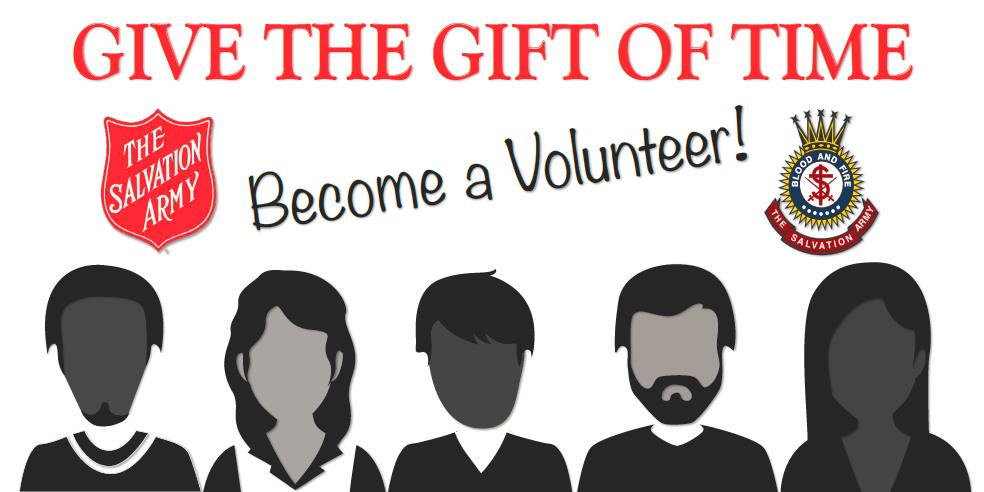 Volunteer with The Salvation Army Red Bank Corps