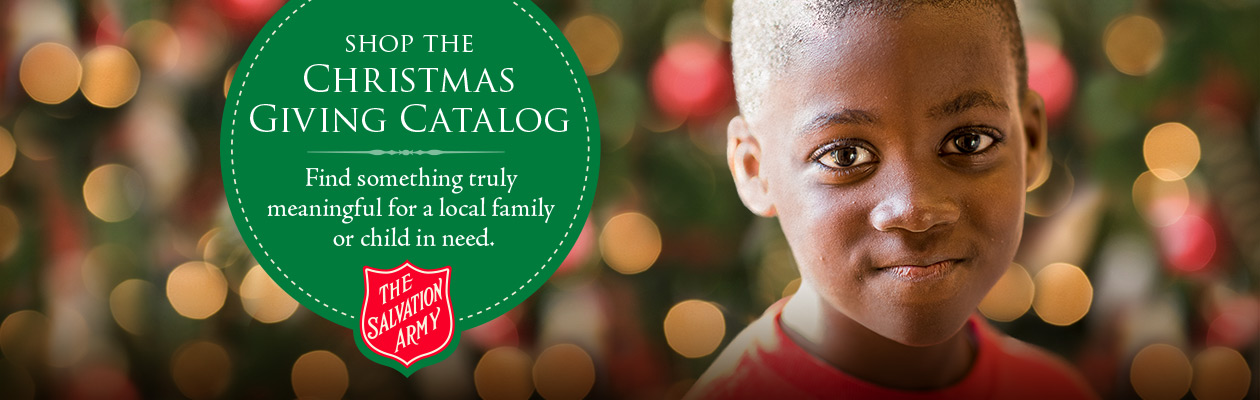 Shop the Christmas Giving Catalog